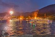 Sonnwendfahrt - Wachau - Sa 21.06.2014 - Feuerwerk �ber der Donau, Wachau, Schiffe, Fakeln165