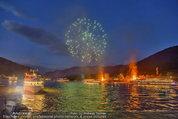 Sonnwendfahrt - Wachau - Sa 21.06.2014 - Feuerwerk �ber der Donau, Wachau, Schiffe, Fakeln168