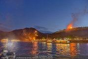 Sonnwendfahrt - Wachau - Sa 21.06.2014 - Feuerwerk �ber der Donau, Wachau, Schiffe, Fakeln174