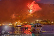 Sonnwendfahrt - Wachau - Sa 21.06.2014 - Feuerwerk �ber der Donau, Wachau, Schiffe, Fakeln179