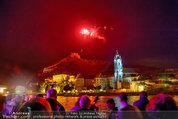 Sonnwendfahrt - Wachau - Sa 21.06.2014 - Feuerwerk �ber der Donau, Wachau, Schiffe, Fakeln �ber D�rnst184