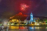 Sonnwendfahrt - Wachau - Sa 21.06.2014 - Feuerwerk �ber der Donau, Wachau, Schiffe, Fakeln �ber D�rnst188