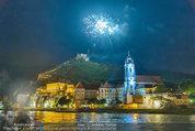 Sonnwendfahrt - Wachau - Sa 21.06.2014 - Feuerwerk �ber der Donau, Wachau, Schiffe, Fakeln �ber D�rnst189