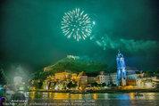 Sonnwendfahrt - Wachau - Sa 21.06.2014 - Feuerwerk �ber der Donau, Wachau, Schiffe, Fakeln �ber D�rnst191