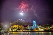 Sonnwendfahrt - Wachau - Sa 21.06.2014 - Feuerwerk �ber der Donau, Wachau, Schiffe, Fakeln �ber D�rnst192