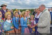 Sonnwendfahrt - Wachau - Sa 21.06.2014 - Erwin PR�LL mit Ehefrau Elisabeth (Sissi) und Kinderchor25