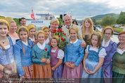 Sonnwendfahrt - Wachau - Sa 21.06.2014 - Erwin PR�LL mit Ehefrau Elisabeth (Sissi) und Kinderchor28