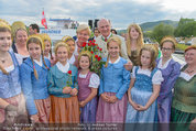 Sonnwendfahrt - Wachau - Sa 21.06.2014 - Erwin PR�LL mit Ehefrau Elisabeth (Sissi) und Kinderchor29