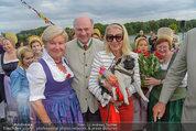 Sonnwendfahrt - Wachau - Sa 21.06.2014 - Erwin PR�LL mit Ehefrau Elisabeth, Christiane H�RBIGER38