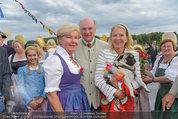 Sonnwendfahrt - Wachau - Sa 21.06.2014 - Erwin PR�LL mit Ehefrau Elisabeth, Christiane H�RBIGER40
