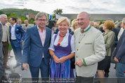 Sonnwendfahrt - Wachau - Sa 21.06.2014 - Alexander WRABETZ, Erwin PR�LL mit Ehefrau Elisabeth (Sissi)49