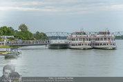 Sonnwendfahrt - Wachau - Sa 21.06.2014 - DDSG-Schiffe an Anlegestelle auf der Donau80