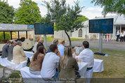 Echo Sommerfest - Wiener Prater - Di 24.06.2014 - G�ste gucken Fu�ball-WM5