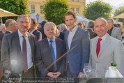Raiffeisen LB OÖ Sommerfest - Albertina - Di 01.07.2014 - Josef P�HRINGER, Gerald KLUG, Sebastian KURZ, Alois ST�GER1