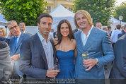 Raiffeisen LB OÖ Sommerfest - Albertina - Di 01.07.2014 - Georg BAUER, Leo HILLINGER15