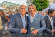Raiffeisen LB OÖ Sommerfest - Albertina - Di 01.07.2014 - Leo HILLINGER, Frank HENSEL16