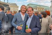 Raiffeisen LB OÖ Sommerfest - Albertina - Di 01.07.2014 - Leo HILLINGER, Markus LIEBL17