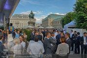 Raiffeisen LB OÖ Sommerfest - Albertina - Di 01.07.2014 - 2