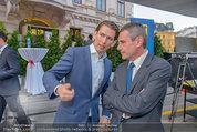 Raiffeisen LB OÖ Sommerfest - Albertina - Di 01.07.2014 - Sebastian KURZ, Heinrich SCHALLER22