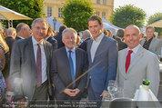 Raiffeisen LB OÖ Sommerfest - Albertina - Di 01.07.2014 - Josef P�HRINGER, Gerald KLUG, Sebastian KURZ, Alois ST�GER6