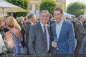 Raiffeisen LB OÖ Sommerfest - Albertina - Di 01.07.2014 - Sebastian KURZ, Alois ST�GER7