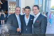 Miss Austria Wahl - Casino Baden - Do 03.07.2014 - Heinz STIASTNY, Mike GALELI, Gregor GLANZ109
