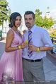 Miss Austria Wahl - Casino Baden - Do 03.07.2014 - Nina Bambi BRUCKNER mit Eheman Senad15