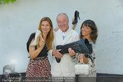 Humanic Kollektion - Hunderwasser Wohnung - Do 03.07.2014 - Martina KAISER, Marjan SHAKI, Franz PRENNER30