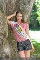 Miss Austria Fotoshooting - Schlosspark Schönbrunn - Fr 04.07.2014 - Julia FURDEA10