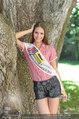 Miss Austria Fotoshooting - Schlosspark Schönbrunn - Fr 04.07.2014 - Julia FURDEA11