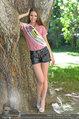 Miss Austria Fotoshooting - Schlosspark Schönbrunn - Fr 04.07.2014 - Julia FURDEA12