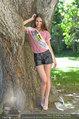 Miss Austria Fotoshooting - Schlosspark Schönbrunn - Fr 04.07.2014 - Julia FURDEA13