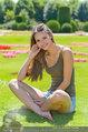 Miss Austria Fotoshooting - Schlosspark Schönbrunn - Fr 04.07.2014 - Julia FURDEA3