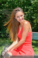 Miss Austria Fotoshooting - Schlosspark Schönbrunn - Fr 04.07.2014 - Julia FURDEA42