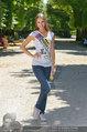 Miss Austria Fotoshooting - Schlosspark Schönbrunn - Fr 04.07.2014 - Julia FURDEA5