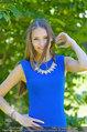 Miss Austria Fotoshooting - Schlosspark Schönbrunn - Fr 04.07.2014 - Julia FURDEA51