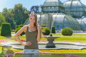 Miss Austria Fotoshooting - Schlosspark Schönbrunn - Fr 04.07.2014 - Julia FURDEA56