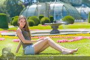 Miss Austria Fotoshooting - Schlosspark Schönbrunn - Fr 04.07.2014 - Julia FURDEA59