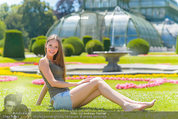 Miss Austria Fotoshooting - Schlosspark Schönbrunn - Fr 04.07.2014 - Julia FURDEA60