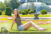 Miss Austria Fotoshooting - Schlosspark Schönbrunn - Fr 04.07.2014 - Julia FURDEA61
