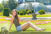 Miss Austria Fotoshooting - Schlosspark Schönbrunn - Fr 04.07.2014 - Julia FURDEA62