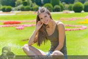 Miss Austria Fotoshooting - Schlosspark Schönbrunn - Fr 04.07.2014 - Julia FURDEA66