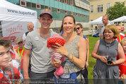 SuperFit mit Thomas Morgenstern - Altes AKH - Mo 07.07.2014 - Thomas MORGENSTERN, Regina KAIL34