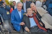 St. Margarethen AIDA Premiere - Römersteinbruch St. Margarethen - Mi 09.07.2014 - Harald SERAFIN, Karl und Angelika SPIEHS103