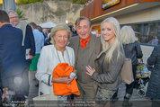 St. Margarethen AIDA Premiere - Römersteinbruch St. Margarethen - Mi 09.07.2014 - Richard LUGNER, Cathy SCHMITZ114