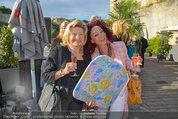 St. Margarethen AIDA Premiere - Römersteinbruch St. Margarethen - Mi 09.07.2014 - Christina LUGNER mit Mutter Martha HAIDINGER4