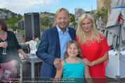 St. Margarethen AIDA Premiere - Römersteinbruch St. Margarethen - Mi 09.07.2014 - Wolfgang WERNER mit Freundin Katja und deren Tochter Lena7