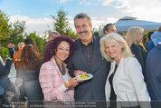 St. Margarethen AIDA Premiere - Römersteinbruch St. Margarethen - Mi 09.07.2014 - Christina LUGNER, Sigi KR�PFL mit Ehefrau69