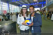 Promi Beachvolleyball KickOff - MegaDenzel Erdberg - Mo 14.07.2014 - Vera RUSSWURM, Fadi MERZA12