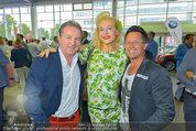 Promi Beachvolleyball KickOff - MegaDenzel Erdberg - Mo 14.07.2014 - Kurt FAIST, Andrea BUDAY, Hans ENN20